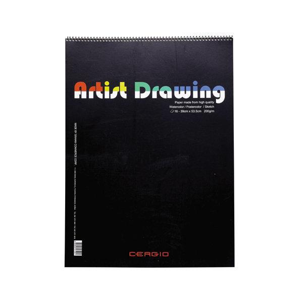 118844 스케치북(4절/16매/Drawing/39 53.5cm)