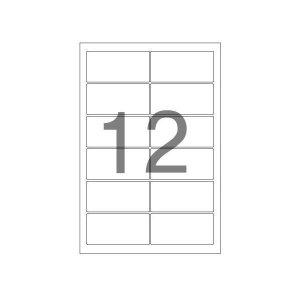 108103 주소용 라벨(LS-3212/100매/12칸/폼텍)