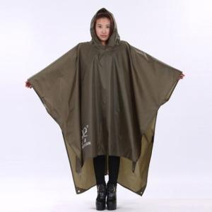 다용도 휴대용 판초우의 / 등산 캠핑 우의 비옷