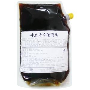 샤브샤브 육수농축액 2kg/월남쌈 우동소스 샤브육수
