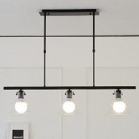 바이빔 LED 아론3등 펜던트-블랙or화이트