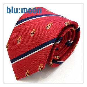 blu:moon 넥타이 - 터닝포인트 레드 8cm