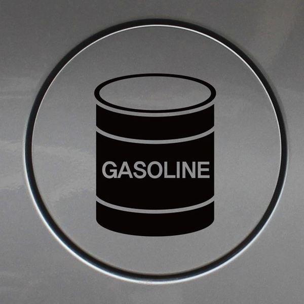 주유구스티커_드럼통 가솔린