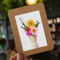 압화종이액자 만들기세트(아이스크림) -  종이액자