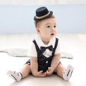 (아이옷샵) 페도라 머리띠 /돌잔치 백일 잔치 모자/아기 중절모