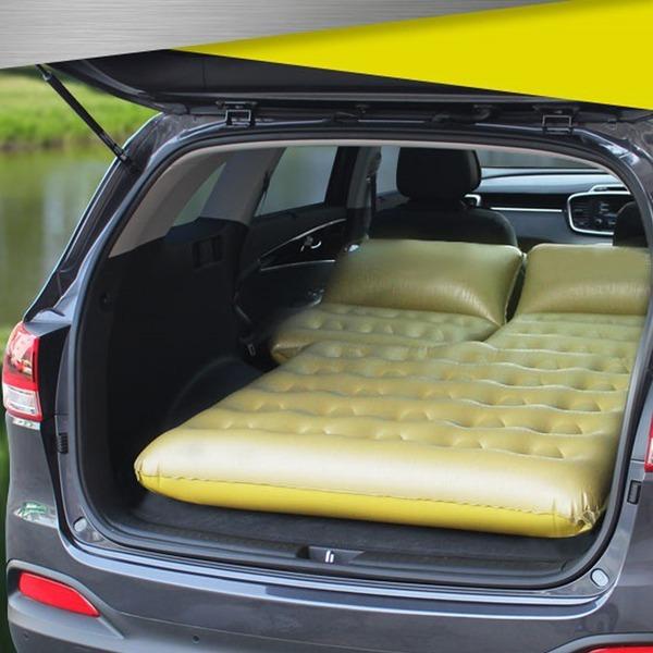 차량용 다용도 에어매트 /캠핑용/물놀이 차량용품