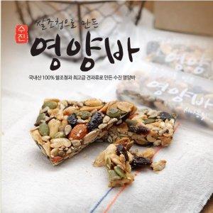 쌀조청으로만든수제영양바 에너지바4박스(30gx24개입)
