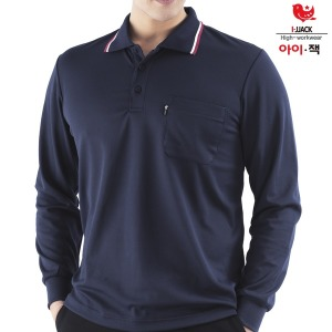 근무복 남성 카라티 쿨 티셔츠 IS-23 자수문의환영