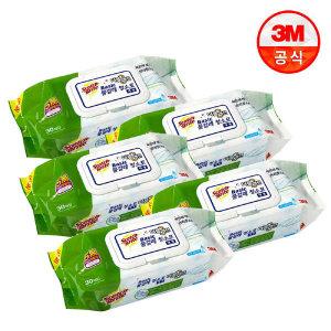 (현대Hmall)3M 베이직 더블액션 물걸레 청소포 대형 150매