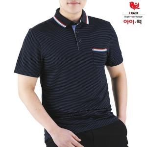 근무복 단체복 남성카라티 쿨론 티셔츠 IS-01 자수문의