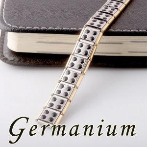 게르마늄 건강 팔찌 티타늄스틸 음이온 은팔찌