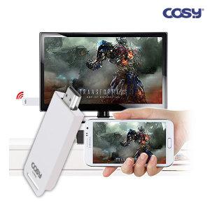 2018년 미라캐스트 스마트폰 TV전송 미러링 CK1281WL