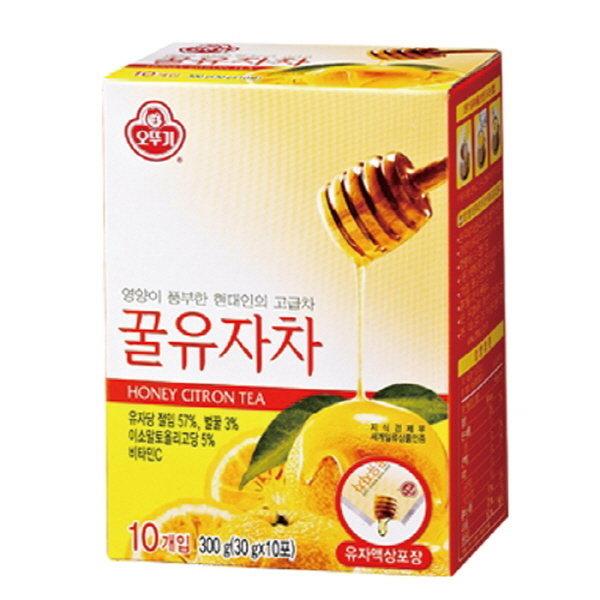 액상 꿀유자차(30gX10T/오뚜기)
