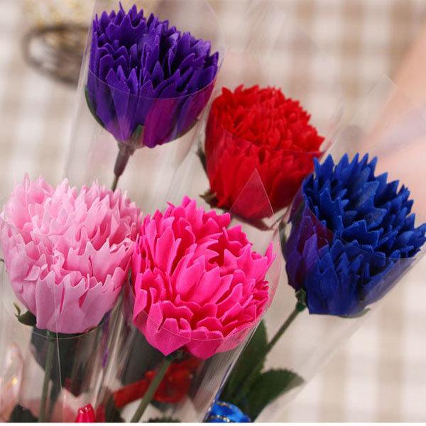 시들지않는꽃 비누꽃바구니 비누장미 카네이션 도매
