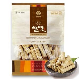 창평쌀엿 1kg/ 담양창평엿 가락엿 한국식품명인 21호
