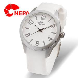 온라인공식판매처  NEPA 네파 패션 실리콘시계 N5021-WHITE/GRAY