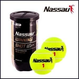 정품 낫소 테니스공 위닝샷 1캔 2볼  테니스볼/시합구