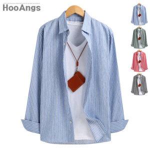 (현대Hmall) 후앙스  잔 스트라이프 셔츠 NDST1235