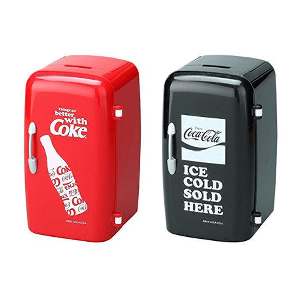 코카콜라 냉장고형 펜스탠드 레드/블랙