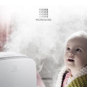 (마이크로윈드) 마이크로윈드 55베이비케어 프리미엄 가습기/복합식/온 습도표시/리모컨/UV살균/베이비...