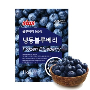 시아스 냉동 블루베리 1kg