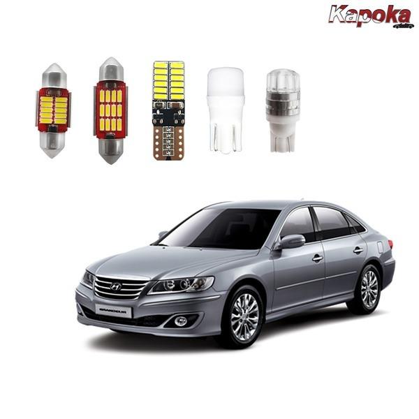 + 그랜져더럭서리 전용 LED실내등/ 번호판등 트렁크등