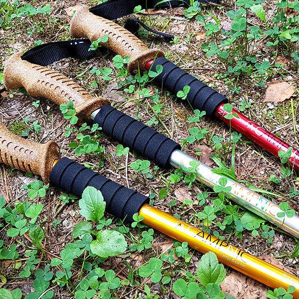 (캠프닉) 등산스틱 CN-3000PS(세트) 등산용품 지팡이 등산장비 트레킹 3단 두랄루민