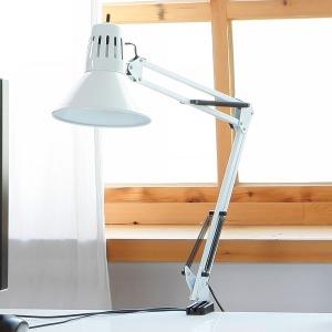 클램프 책상스탠드 화이트 (LED 집게 스텐드 조명)