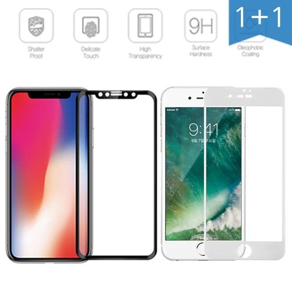 아이폰 XS XR G8 G7 V50 V40 V30 V35 풀커버 강화유리