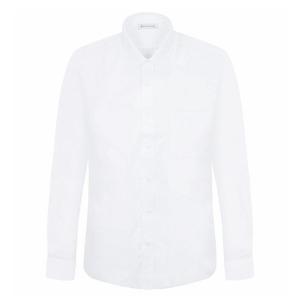 밀라노바 일반핏_MN001흰색 긴팔셔츠