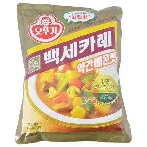 백세카레 약간매운맛 1kg