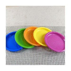 락앤락 레인보우접시 5개 플라스틱 휴대용접시 피크닉