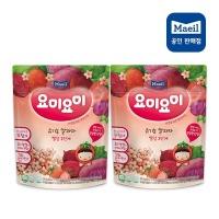 요미요미 유기농과자 빨강2단계 25GX2봉/아기과자