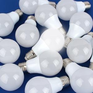 LED 전구 볼전구 벌브 램프 삼파장 조명 KS 번개표