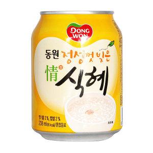 동원 정식혜 238 x 72캔 / 식혜 음료수