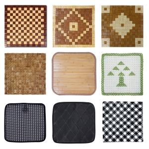 종류多여름방석/ 대나무 대방석 대쿠션 쇼파패드 방석