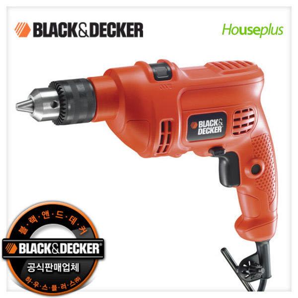 (현대Hmall) 블랙앤데커 10mm햄머드릴_KR454RE/450W 파워/속도조절