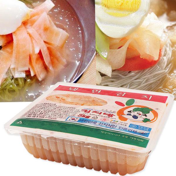 냉면김치 3kg-국내산 무100% 냉면무김치 냉면육수 무