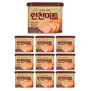 롯데 런천미트 340g x 10캔 / 로스팜 햄 통조림
