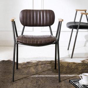 (아리아퍼니처 (ARIA FURNITURE) ) Miranda-Brown Metal 디자인 의자  인테리어 체어 스툴