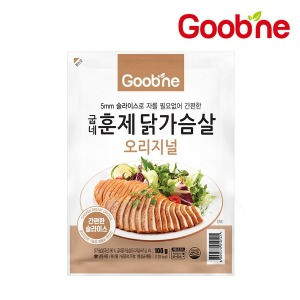 굽네 오리지널 훈제 닭가슴살 100g1팩 /슬라이스/AG01