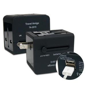 2.1A 멀티아답터(USB 2포트 겸용)휴대용멀티플러그