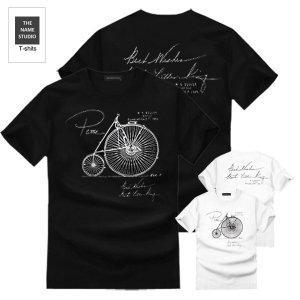 (더네임스튜디오) 더네임스튜디오 클래식자전거 2종 반팔티 티셔츠 M~4XL 빅사이즈