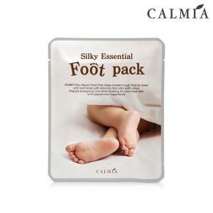 CALMIA 실키 에센셜 풋팩 x1개-발보습마스크팩 - 상품 이미지