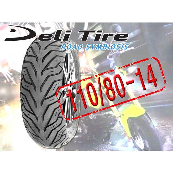 110/80-14  DELI 스쿠터/바이크/오토바이/타이어PCX