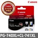 캐논 PG-740XL + CL-741XL 트윈팩 PG740XL + CL741XL