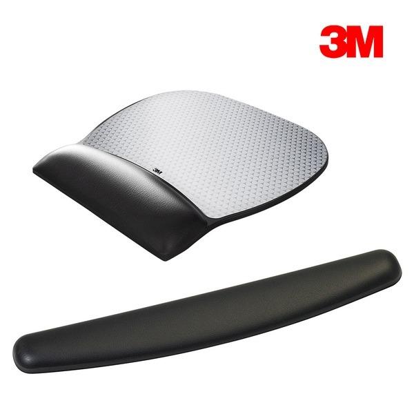 3M 정품 마우스패드 키보드 손목 받침대 항균 젤패드