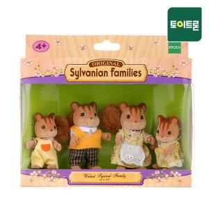 실바니안공식  4172-호두다람쥐 가족(3136)