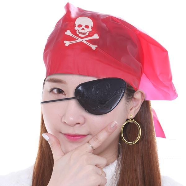 해적 액세서리 세트 용품 안대 귀걸이 액세서리 분장