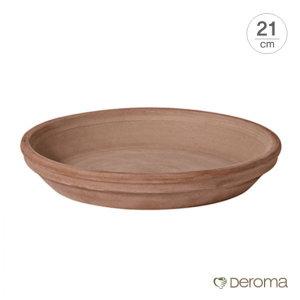데로마 Deroma  테라코타 이태리토분 화분받침대 소토바소 라운드(21cm)